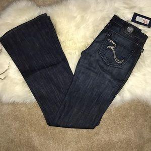 Rock & Republic extra long dark wash flare jeans